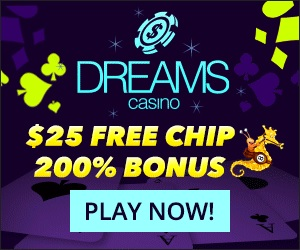 Dreams Casino No Deposit Bonus Codes