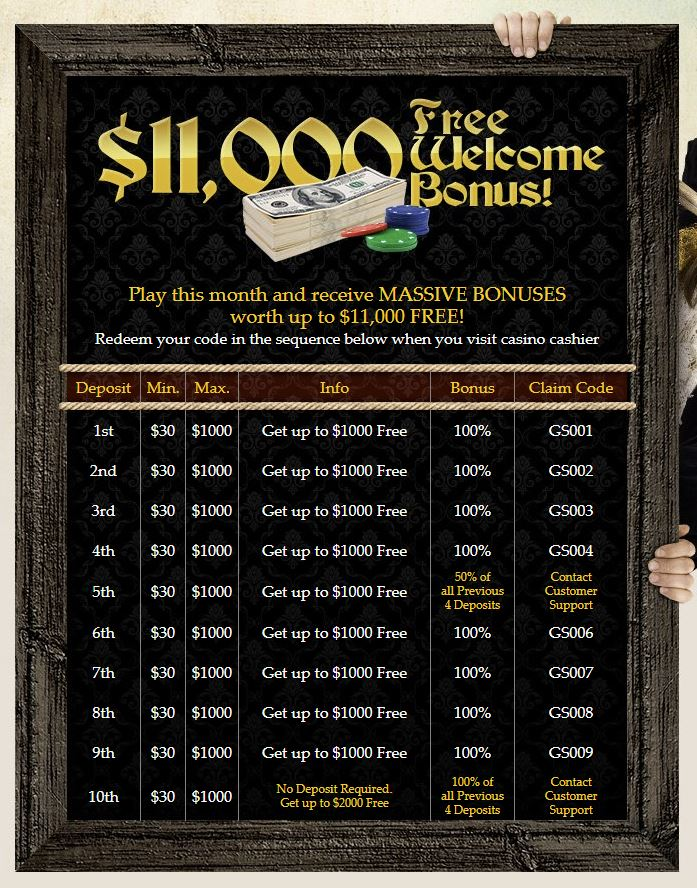 atlantic casino bonus 15euro