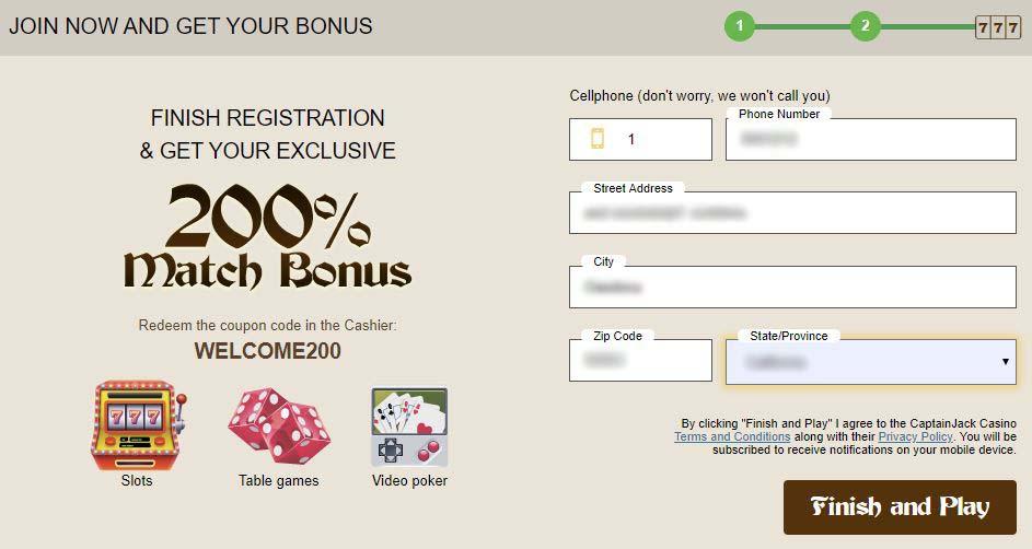 no deposit bonuses for registration