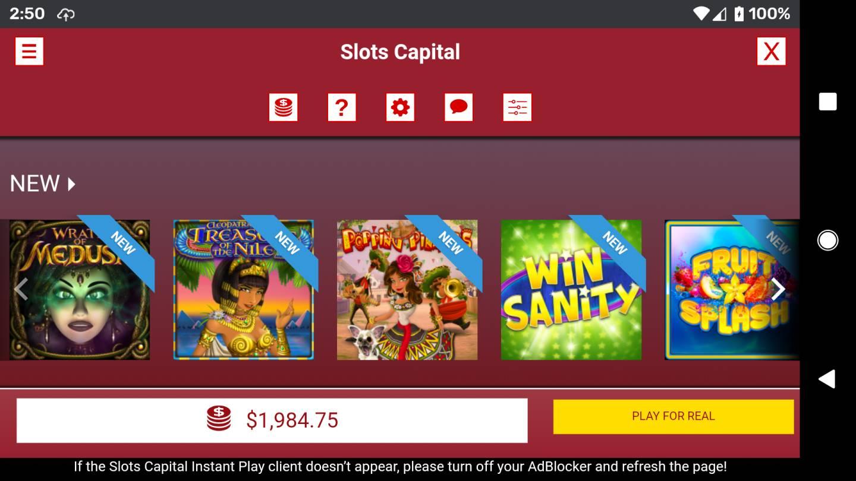 Slots capital casino no deposit bonus
