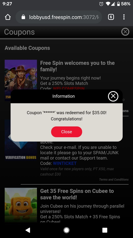 Freespin Casino No Deposit Bonus Codes 2021